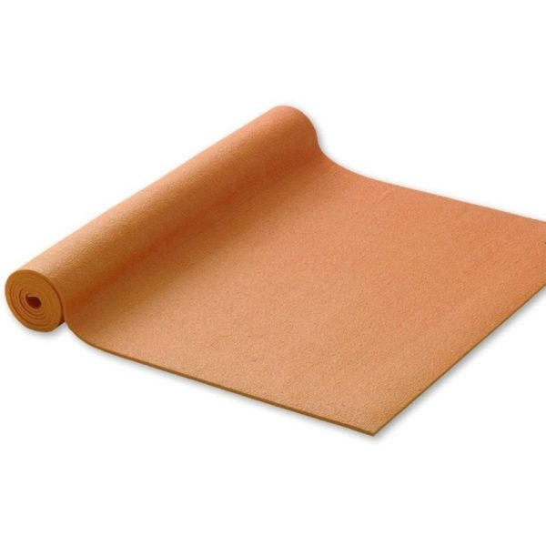 Йога постелка оранжева